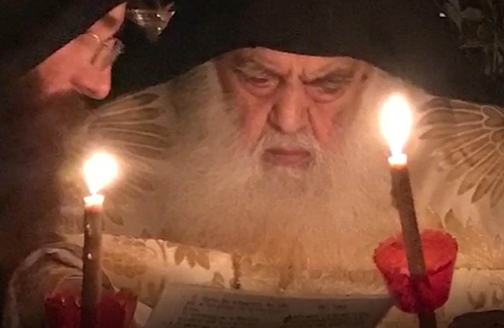 Афонский старец Парфений Пасха на Афоне