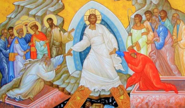 Икона воскресения Христа
